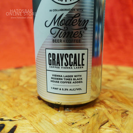 "CAN#79 『GRAYSCALE』 ""グレイスケール"" COFFEE VIENNA LAGER/5.3%/473ml by BAERLIC Brewing."