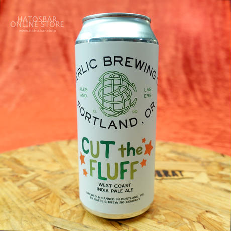 "CAN#77 『CUT the FLUFF』 ""カット ザ フラッフ"" WEST COAST INDIA PALE ALE /6.7%/473ml by BAERLIC Brewing."