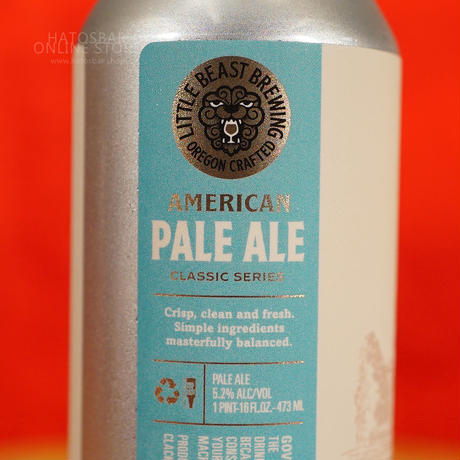 """CAN#174『AMERICAN PALE ALE』""""アメリカンペールエール"""" Pale ale /5.2%/473ml by LITTLE BEAST Brewing."""