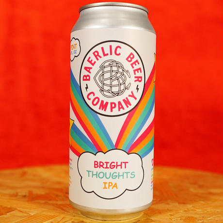 """CAN#170 『BRIGHT THOUGHTS IPA』 """"ブライトソーツ IPA"""" /6.8%/473ml by BAERLIC Brewing."""