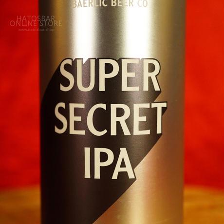 "CAN#129 『Super Secret IPA』 ""スーパーシークレットIPA""  IPA/6.2%/473ml by BAERLIC Brewing."