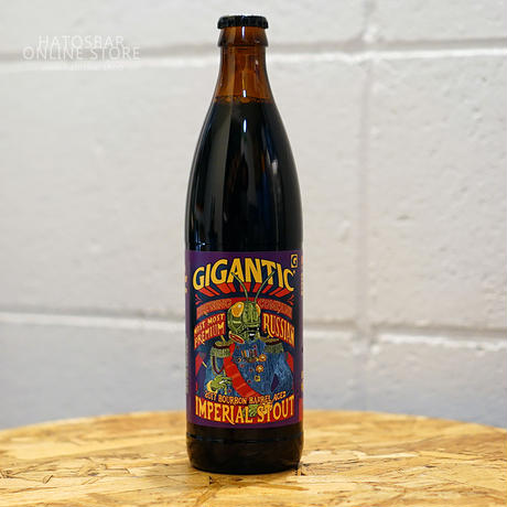 "BOTTLE#06 『Most most Premium』 ""モスト・モストプレミアム"" Aged Imperial Stout/12.4%/500ml  by GIGANTIC Brewing."