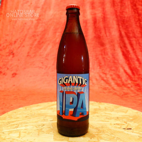 "BOTTLE#01 『GIGANTIC IPA』""ジャイガンティックIPA"" alc. 6.9%/500ml by GIGANTIC Brewing."