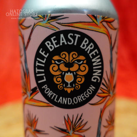"CAN#52『hot break』""ホットブレイク"" Dry hopped sour ale/4.8%/473ml by LITTLE BEAST Brewing"