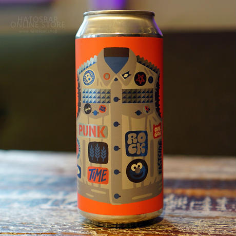 """CAN#95 『PUNK ROCK TIME』 """"パンクロックタイム"""" IPA/6.2%/473ml by BAERLIC Brewing."""