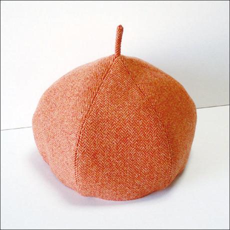 Orange*Choco-beret