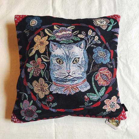 Nathalie Lete ナタリーレテ クッションカバー(Blue cat)