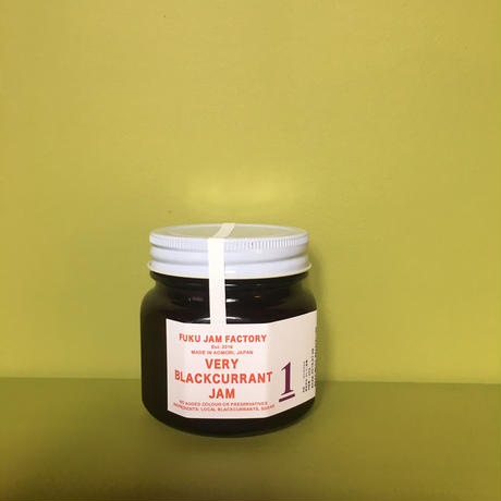 FUKU JAM FACTORY  VERY BLACKCURRANT JAM ブラックカラントジャム