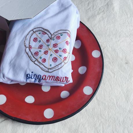 Keur paris (キュア パリ) 刺繍Tシャツ