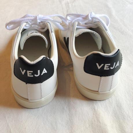 VEJA ヴェジャ  ESPLAR  レザースニーカー   EXTRA-WHITE BLACK (LADYS)
