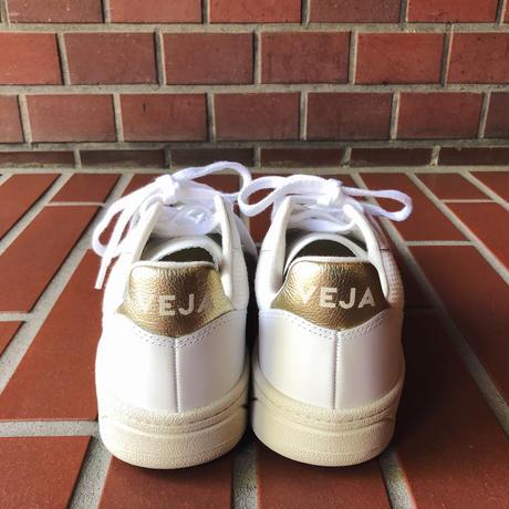 VEJA ヴェジャ  V-10  スニーカー   WHITE / GOLD