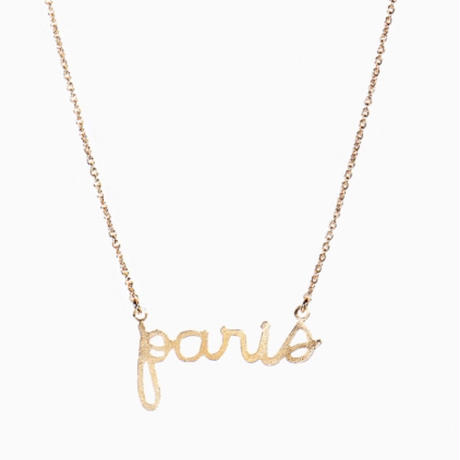Titlee ティトゥリ      Paris necklace パリネックレス