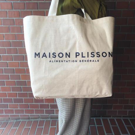 MAISON PLISSON メゾンプリソン 麻バッグ