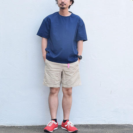 ※2colors <BARNS> ナイロン CAMP Tee BR-7852