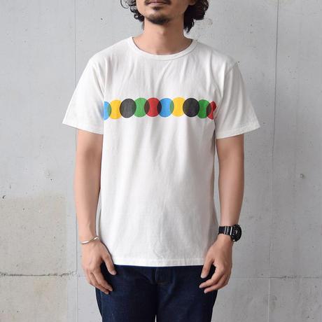 <free rage> リサイクルコットン 「FIVE CIRCLE」 T-shirts