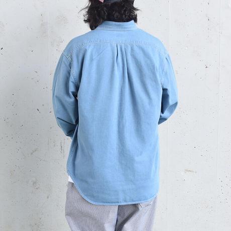 【今秋おすすめ!】ルーズシルエット デニム BD シャツ