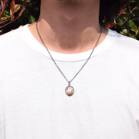 <BUTTON WORKS> Dime Coin Necklace