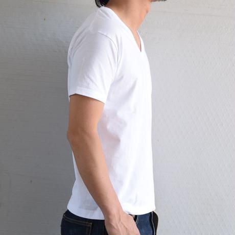 【Heans / 赤パック / Vネック】ジャパンフィット  Japan Fit(白/2枚組)