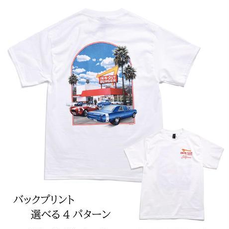 IN-N-OUT BURGER Souvenir Tee インアウトバーガー  Tシャツ