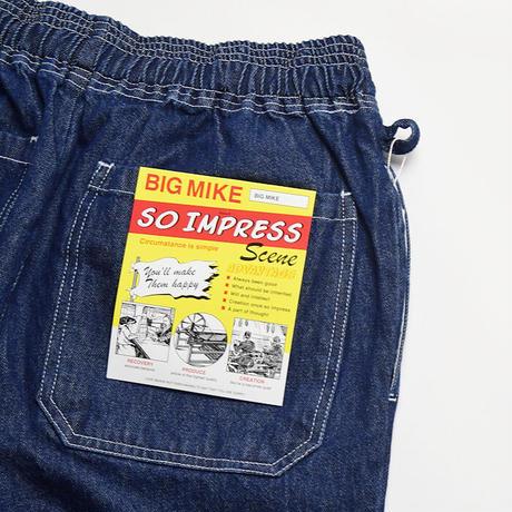 <BIG MIKE> デニム イージー パンツ