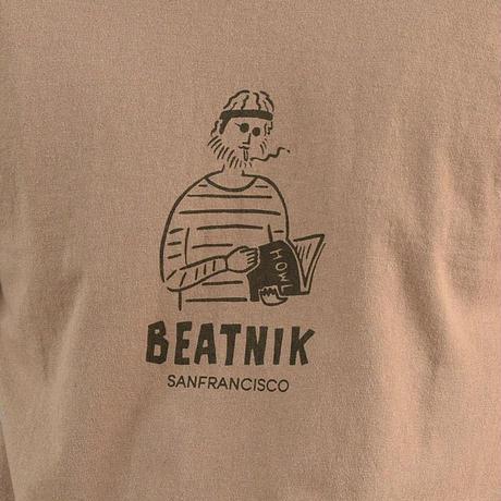 <BARNS> ヘビーウェイト プリントT 「BEATNIK」