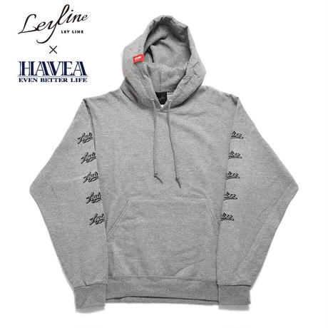 ※残りグレーのみ【Leyline × HAVEA】Sleeve Print Sweat Pull PK