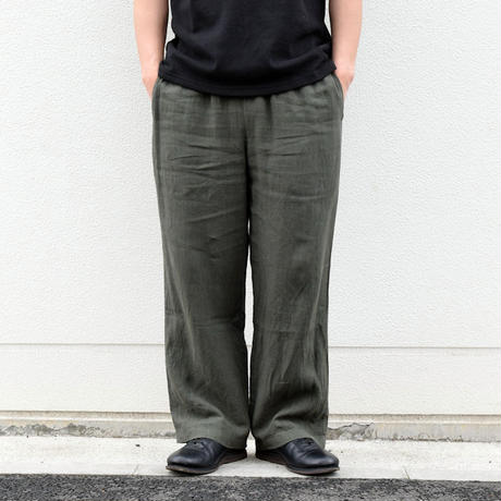 ※2colors <coochucamp> Linen Wide Pants / ワイド リネンパンツ