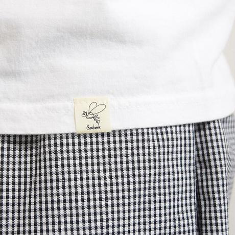 "<seabeads> プリントT-Shirt ""BARBER"""
