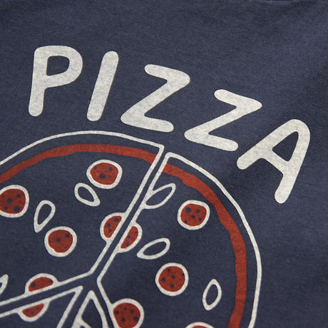 "<seabeads> プリントT-Shirt ""Pizza"""