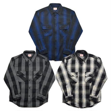 <BIG MIKE> ヘビーフランネルシャツ