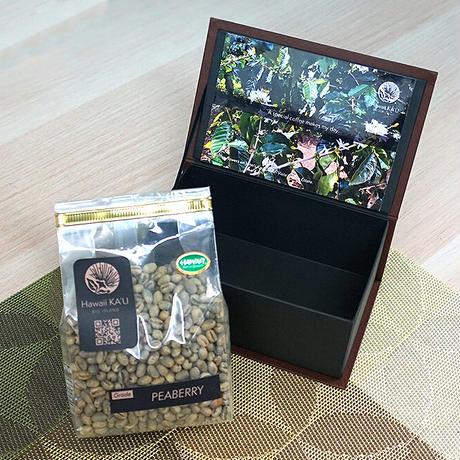 至宝ピーベリー 270g【生豆】:100%カウコーヒー