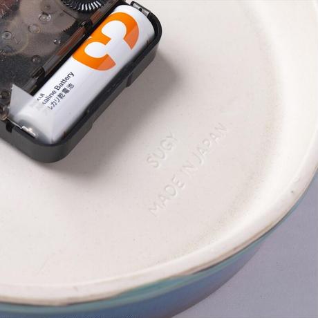 GLAZED CLOCK P-11(ペールグレー)