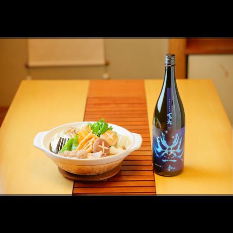 百十郎 純米吟醸 大辛口生原酒 冬のオリオン 1800ml