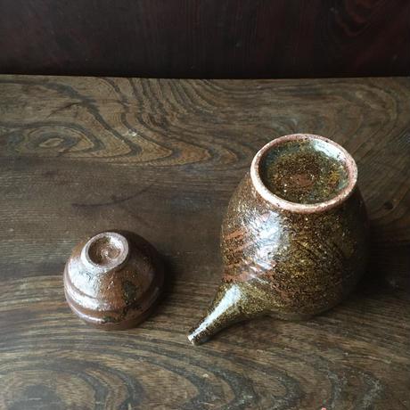 籾灰釉酒器セット