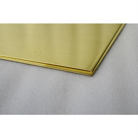 【管理番号71】 黄銅板 C2600 厚み1.0mm