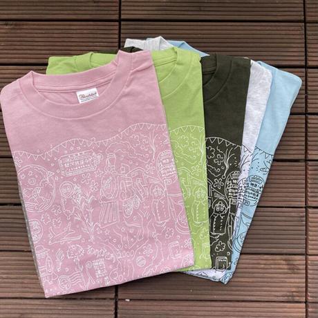上京20年記念Tシャツ(ピーチ)