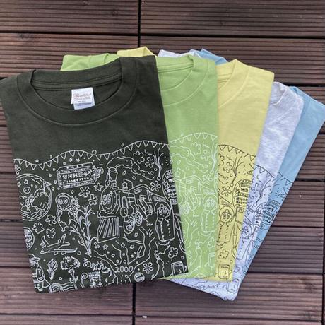 上京20年記念Tシャツ(アッシュ)