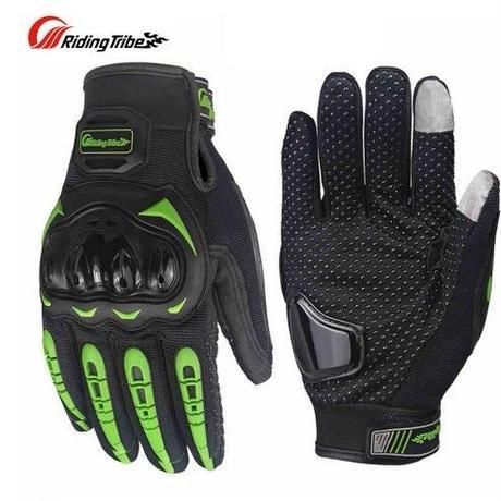 バイク 手袋 男性 オートバイレース通気性メッシュ生地サイクリング手袋