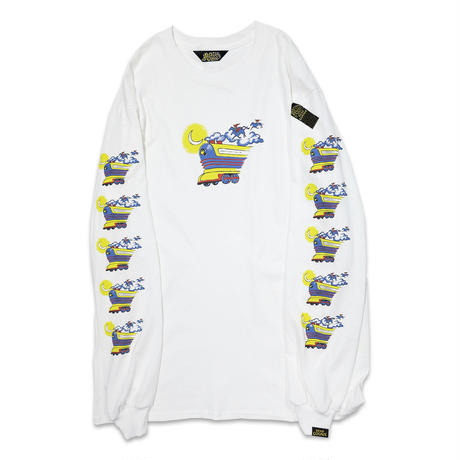 FLYING FUTURE TRAIN LONGSLEEVE T-shirts