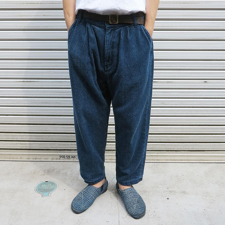 SASHIKO SLACKS PANTS