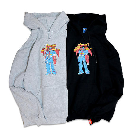 SUPER ROBOT HOODY SWEAT