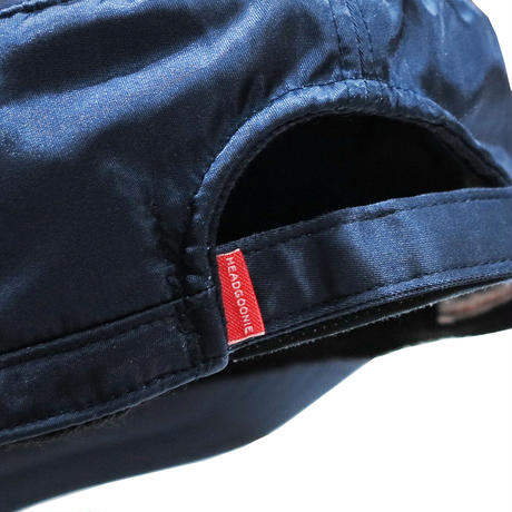 INDIGO NYLON PIRATE CAP