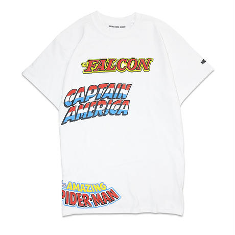 HEADGOONIEMOVIE x MARVEL©️ HEROES&VILLAINS MULTI T-shirts