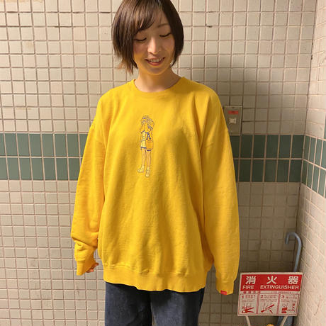 KAERITAI BIG CREW NECK SWEAT