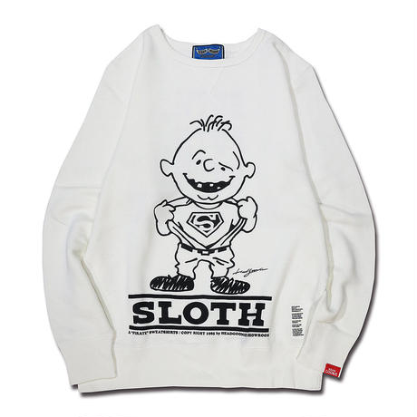 BOOTLEG VINTAGETYPE CREWNECK SWEAT (SLOTH)