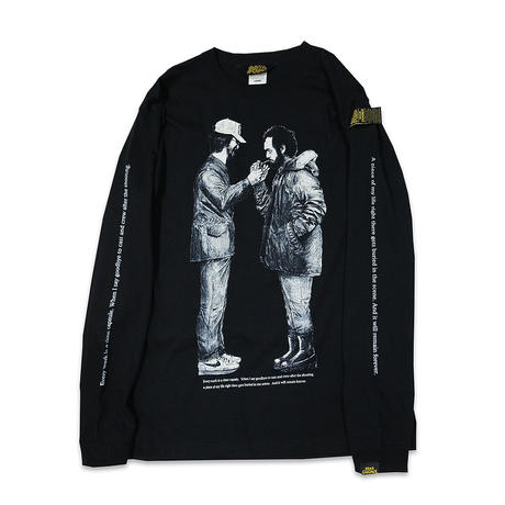 HEADGOONIE x JETLINK DIRECTOR DANCE LONGSLEEVE T-shirts (BLACK)