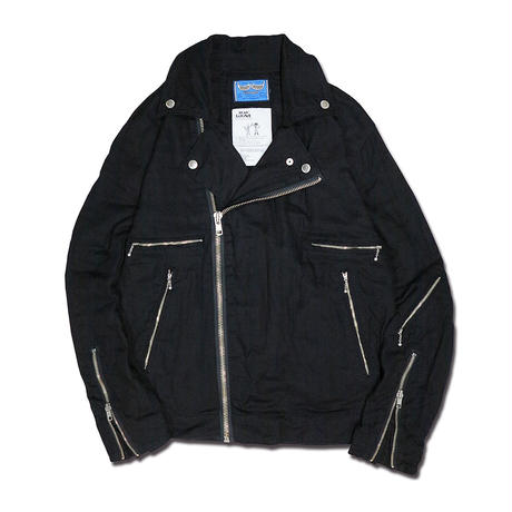DOUBLE GAUZE RIDERS JACKET