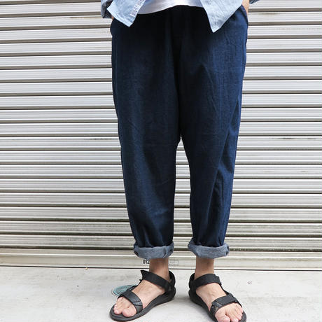 EASY WIDE DENIM PANTS