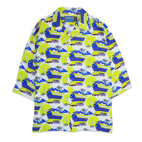 FLYING FUTURE TRAIN ALOHA SHIRTS(改良版)