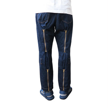 BONDAGE DENIM PANTS